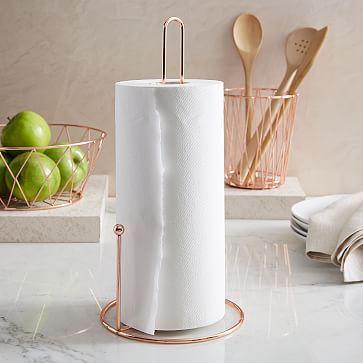 Copper Wire Paper Towel Holder
