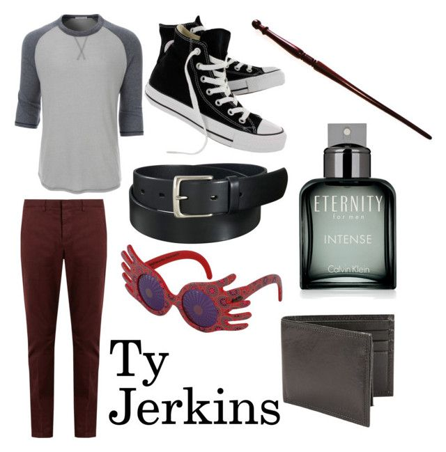 """""""Ty Jerkins"""" by beautifulyou57 on Polyvore featuring LE3NO, AMI, Converse, Uniqlo, INC International Concepts, Calvin Klein, Perry Ellis, men's fashion and menswear"""