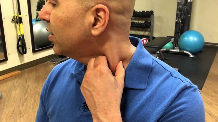How to self-treat sternocleidomastoid muscle trigger points - trigger po...