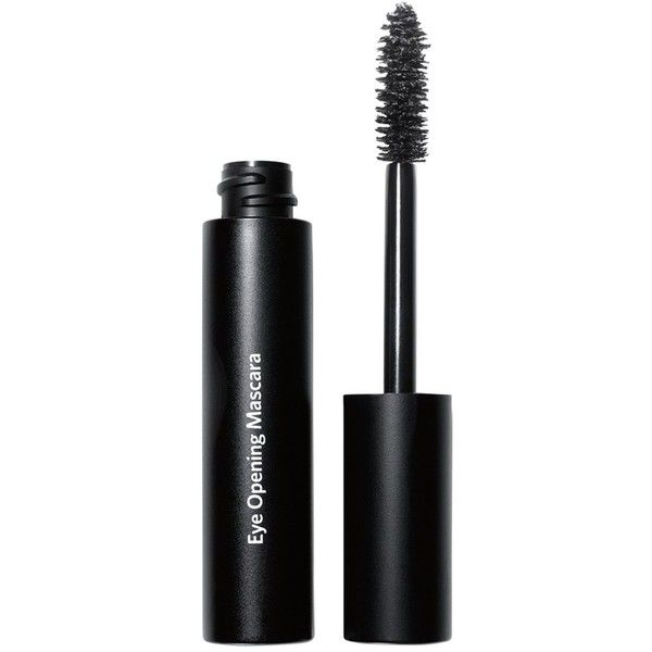 Bobbi Brown Eye Opening Mascara ($30) ❤ liked on Polyvore featuring beauty products, makeup, eye makeup, mascara, blackest black, thickening mascara, bobbi brown cosmetics, black mascara, curling mascara and black eye makeup