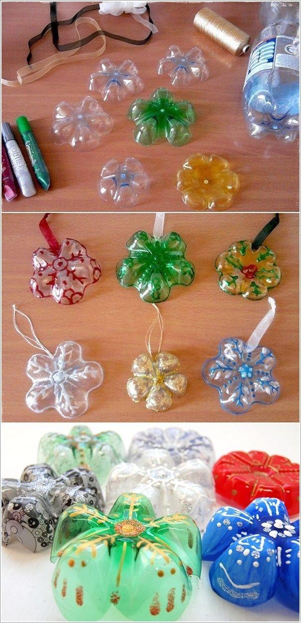 Best 19 plastic bottle crafts images on pinterest other for Crafts made from plastic bottles