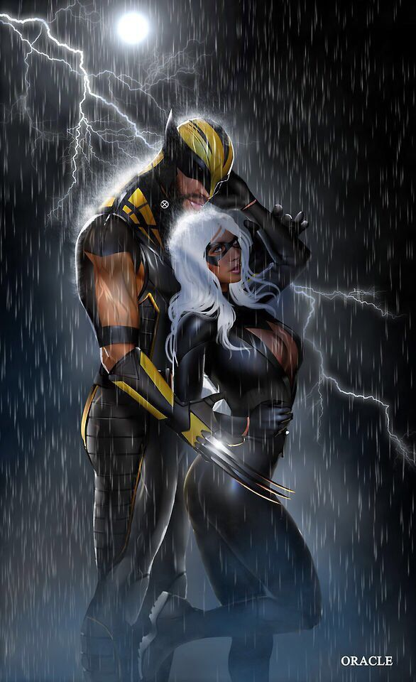 storm and wolverine dating