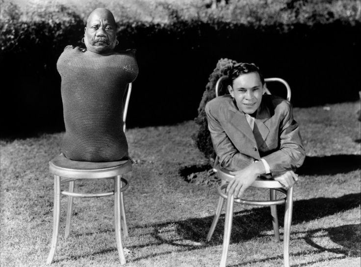 Prince Randian and Johnny Eck