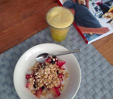 Warm en lekker crunchy ontbijt | Recept Mieke Kosters