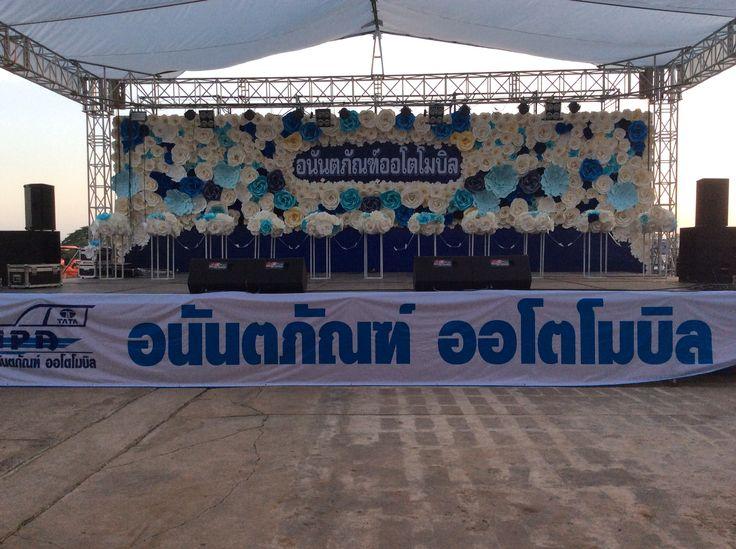 23 best paper flower thailand images on pinterest thailand paper giant paper backdrop paperflower stage mightylinksfo Gallery