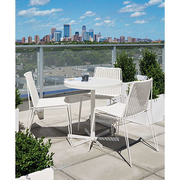 Penelope Outdoor Table   Modern Outdoor Dining U0026 Bar Tables   Modern Outdoor  Furniture   Room