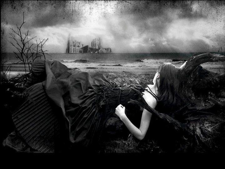 Dark: Goth Girls, Gothic Fantasy, Gothic Wallpaper, Fantasy Art, Gothic Art, Dark Side, Dark Art, Photos Art, Art Pictures