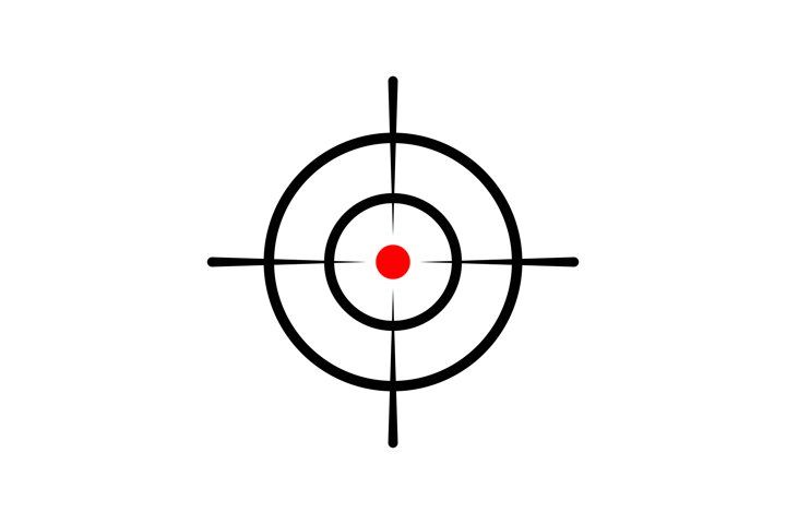 Crosshair Reticle Viewfinder Target Graphics Royalty Free Cliparts Vectors And Stock Illustration Image 51820606 Graffiti Images Sniper Target Image