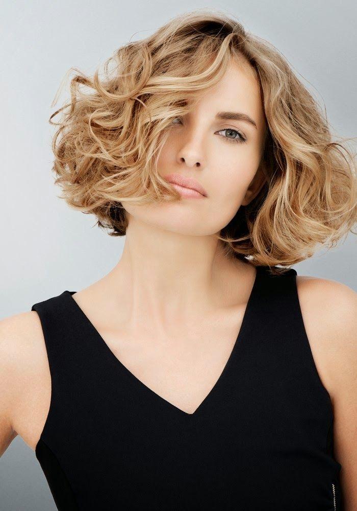 Kapsels en haarverzorging: trendy kapsel krullen 2015