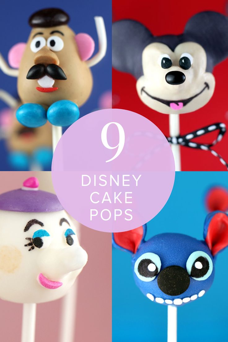 Each Disney character has their own signature cuteness about them — from Stitch's big eyes and Mike Wazowski's sweet smile to Mickey Mouse's oversized ears. These cake pop recipes showcase what we know and love about the adorable Disney crew.