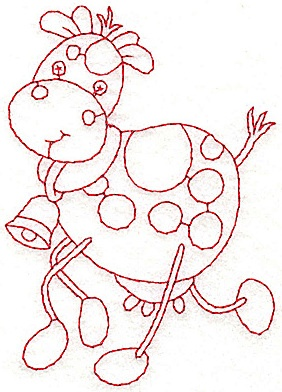 Cute cow coloring pages