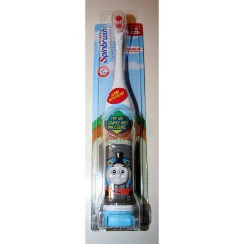 Spinbrush Kids - Thomas and Friends Electric Toothbrush by ARM & HAMMER, http://www.amazon.com/dp/B003QJI342/ref=cm_sw_r_pi_dp_5PSuqb0XKAZQ1