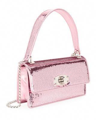 cca55f4601eb Miu Miu Cleo Sequined Top-Handle Shoulder Bag
