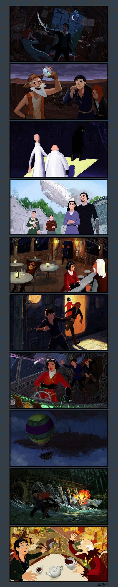 Mortal Engines explication II by eleth89