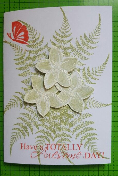 Stamping and heat embossing