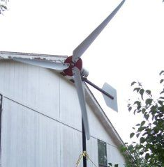 How I Built a Wind Generator in My Backyard for $150