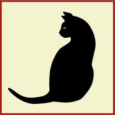 Gato-Preto-2-Gato-estencil-estencil-Animal-o-estencil-Artful