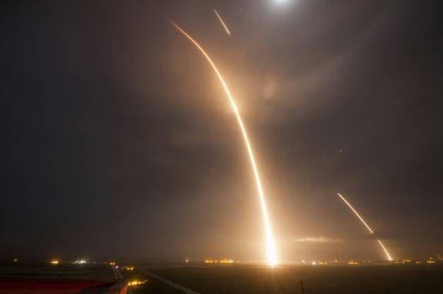 Lanceur de SpaceX: un  exploit  qui ne résout pas tout, selon le président du CNES