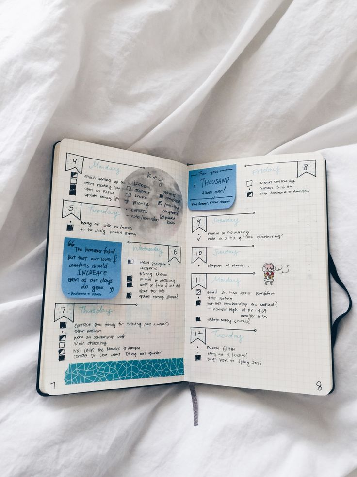 underwaterstrawberry: my first bullet journal... - babydarl
