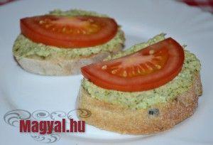 Brokkolis szendvicskrém - Magyal.hu - recept - brokkoli