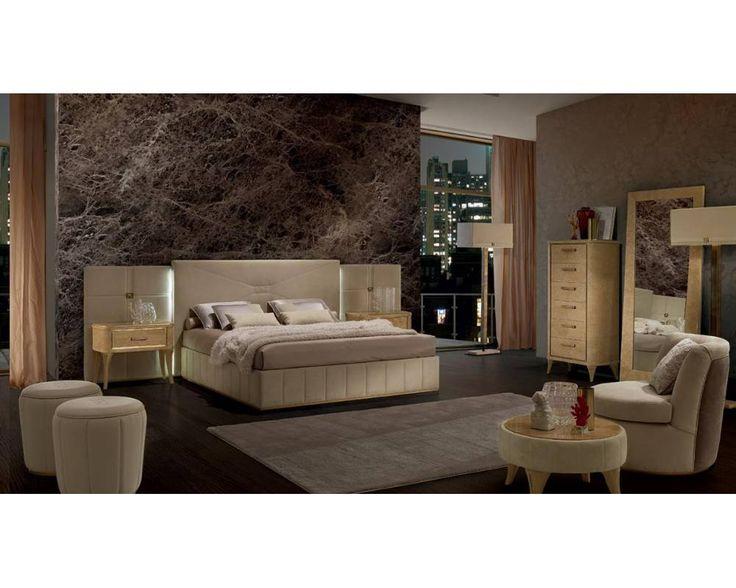Элитная мебель для спальни коллекции Richmond Upon Thames фабрики Barnini Oseo. #ambermebel