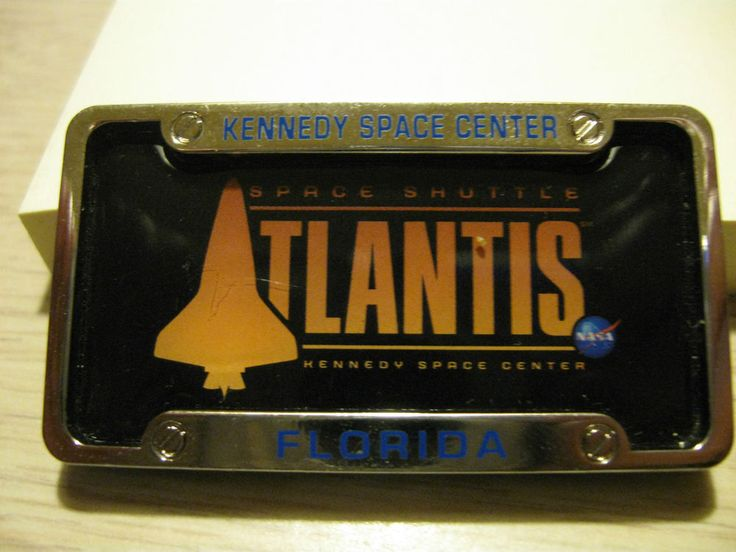 space shuttle license plate - photo #29