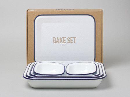 For the casseroles: Falcon Enamelware Bake Set: Remodelista #anthropologie #pintowin