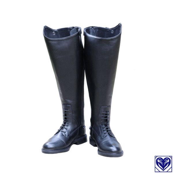 Riding Boots (Field Boots) - Fuller Fillies Field Boots - From Horses are Expensive (Canada's plus size equestrian specialists)