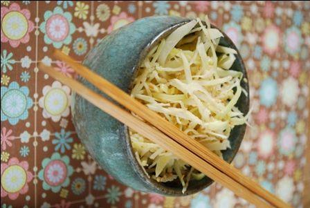 » Salade de chou à la japonaise | Clea cuisine