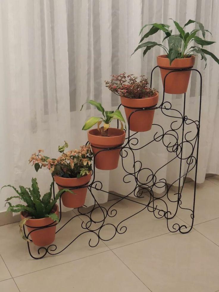 M s de 25 ideas incre bles sobre porta macetas en for Bases para jardineras
