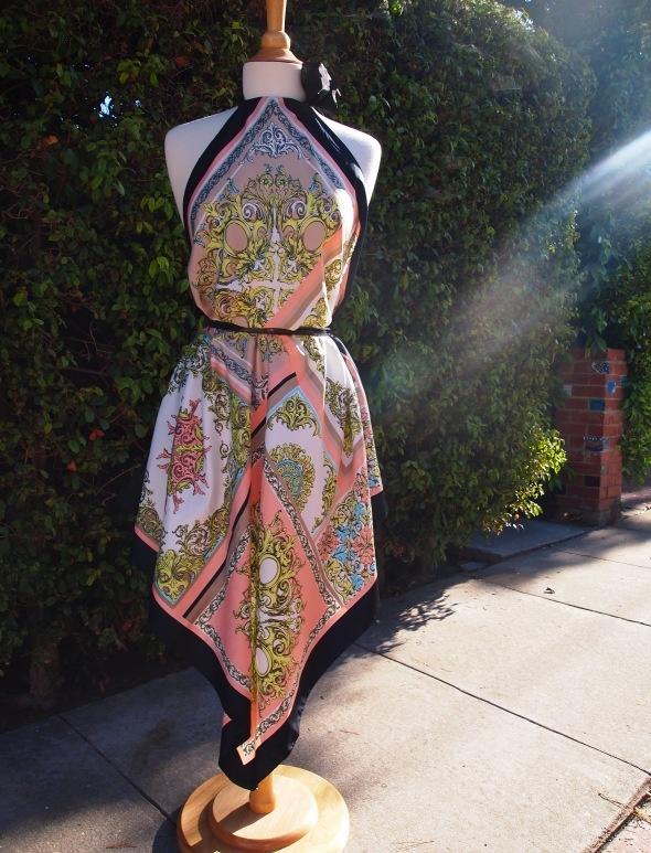 Glitter N Glue DIY Scarf Dress