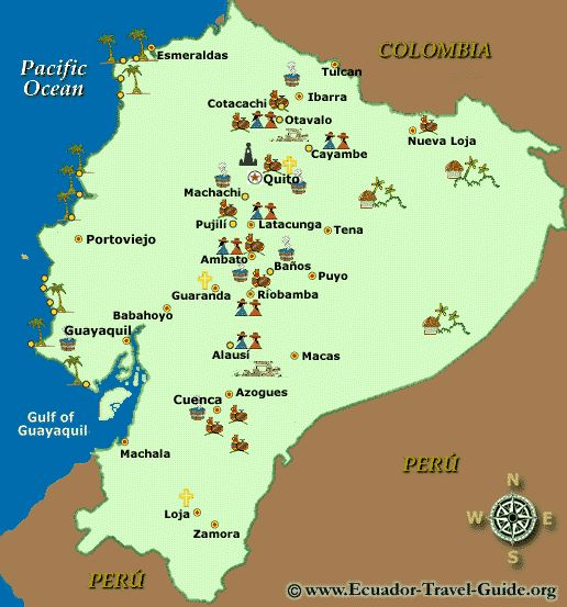 Best Ecuador Map Ideas On Pinterest Map Of Colombia Peru - Ecuador map