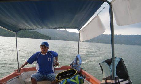Lake Ilopango, El Salvador