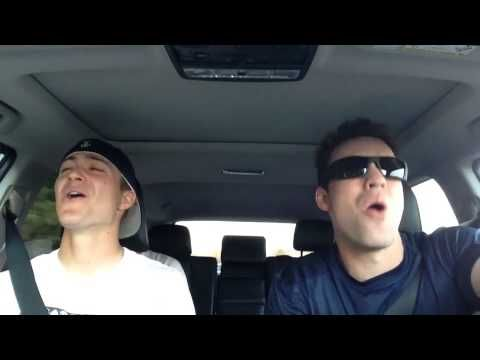 """United States Naval Academy Baseball Players sing """"Love is an Open Door"""""""