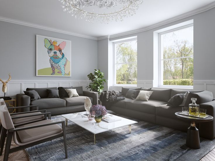 What happens when artwork takes center stage in a home? Rather than adding art as an afterthought, even a single favored piece can easily serve as a perfect anc