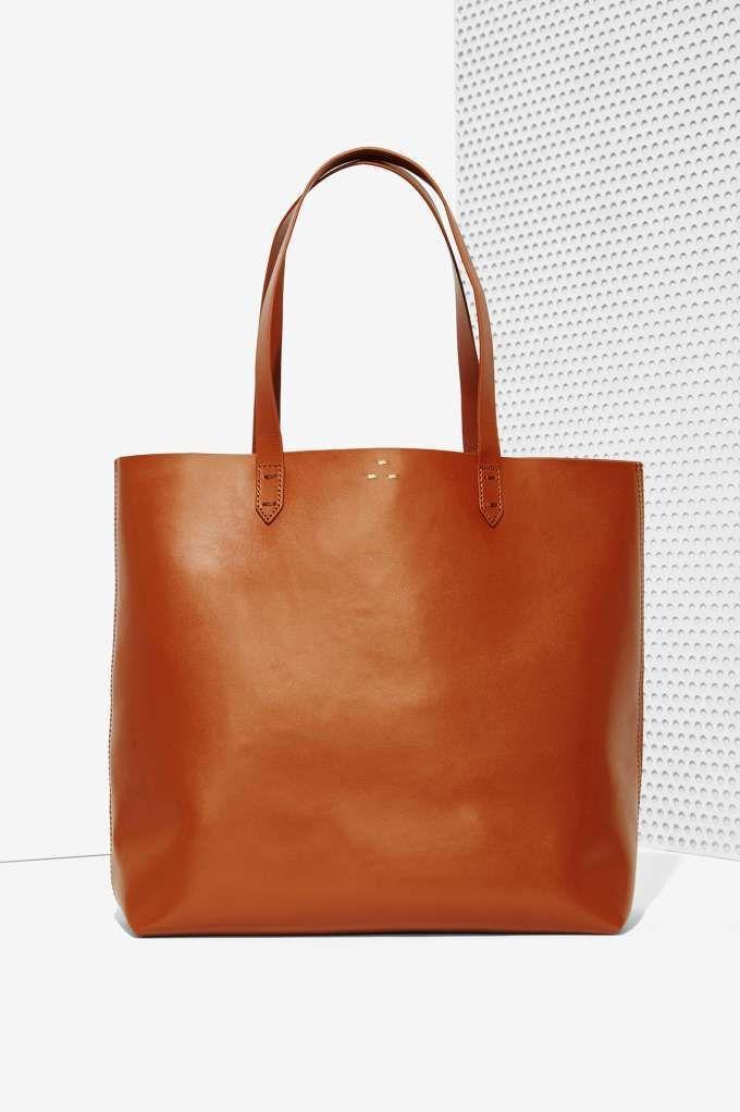 Kelsi Dagger Commuter Leather Tote Bag