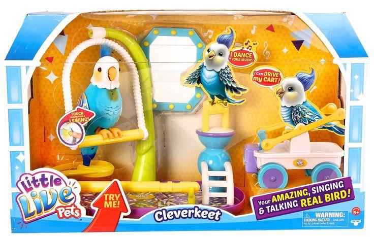 Little Live Pets Clever Keet Bird: Little Live Pets: Amazon.co.uk: Toys & Games
