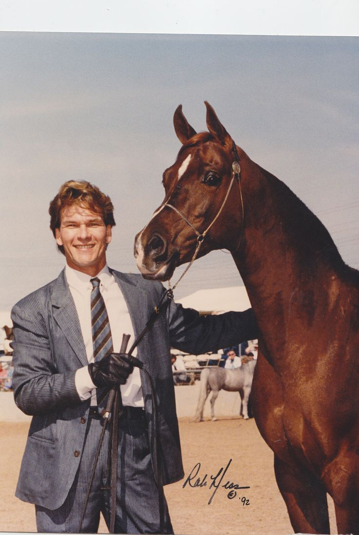 The late Patrick Swayze at WestWorld of Scottsdale - photo by Rob Hess