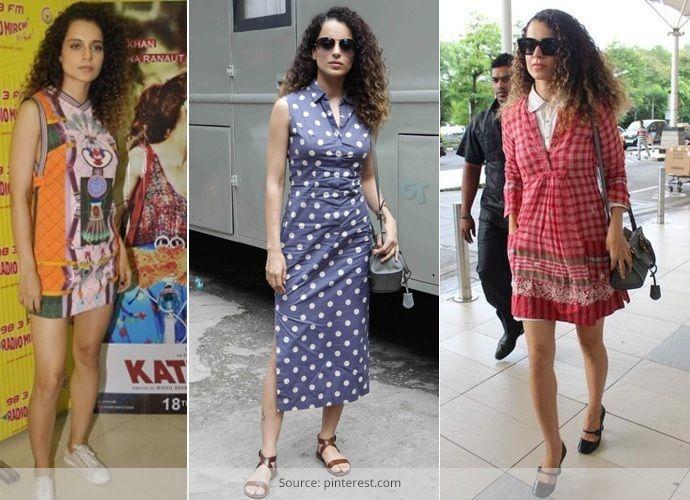 Kangana Ranaut best  Dresses styles