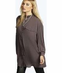boohoo Longline Grandad Collar Boyfriend Shirt - Make your top pop this season with sporty, baseball-style basic tees in quilted finishes with ribbed, stripe trims. Crew necks come in block colours, crop tops with mesh inserts and long sleeve jersey http://www.comparestoreprices.co.uk/womens-clothes/boohoo-longline-grandad-collar-boyfriend-shirt-.asp