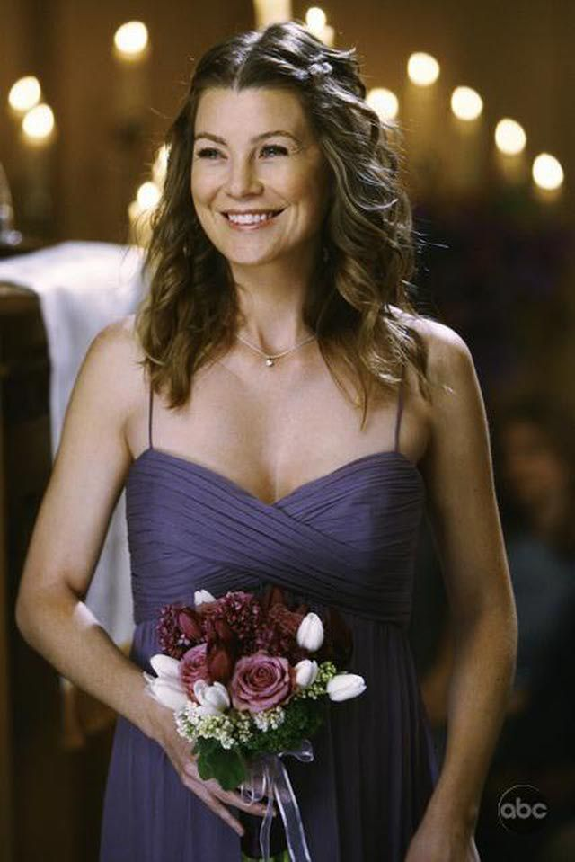 meredith from grey's anatomy | Grey's Anatomy' Wedding - Meredith Grey