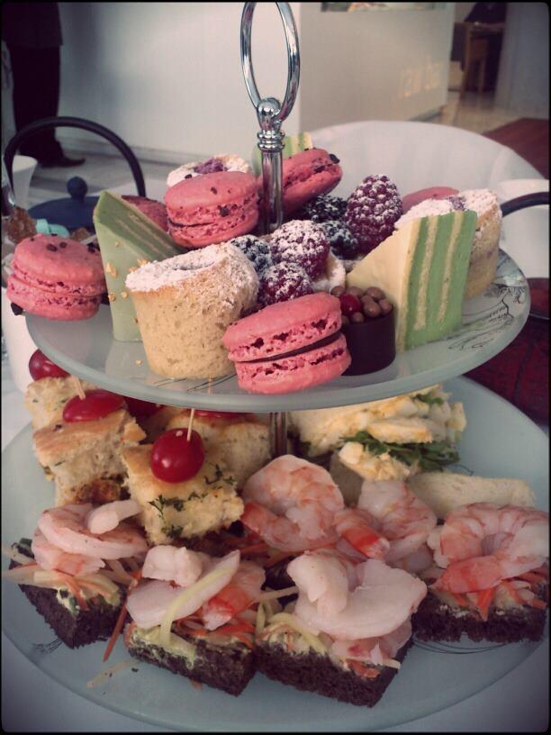 High tea @ Fairmont Pacific Rim
