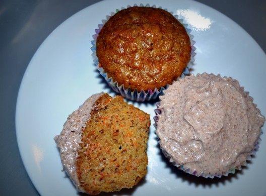 carrot cupcakes-paleo | Paleo Info | Pinterest