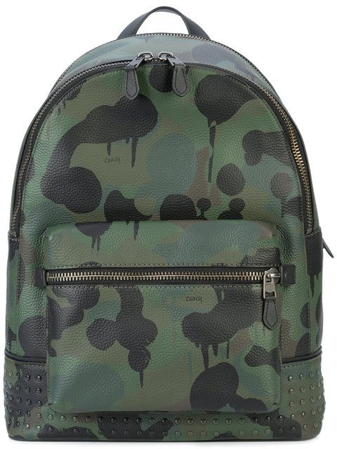 60dcfa5f99ee6e COACH Wild Beast print League backpack. #coach #bags #leather #backpacks #
