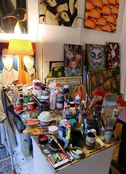 Les 25 meilleures id es de la cat gorie loft d 39 artiste sur pinterest id es loft atelier et - Deco jardin roost heures d ouverture nancy ...