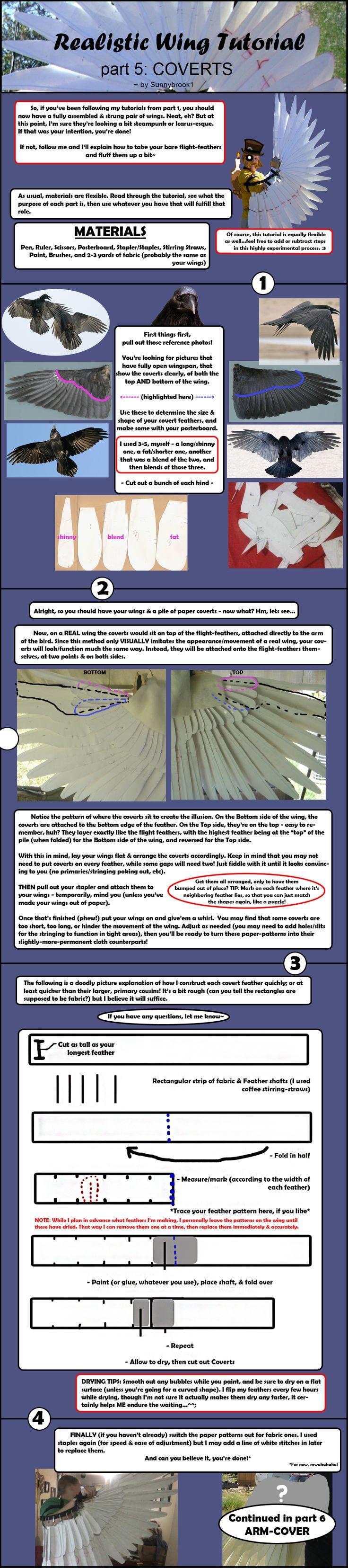 Realistic Wing Tutorial - P.5 by Sunnybrook1.deviantart.com on @deviantART