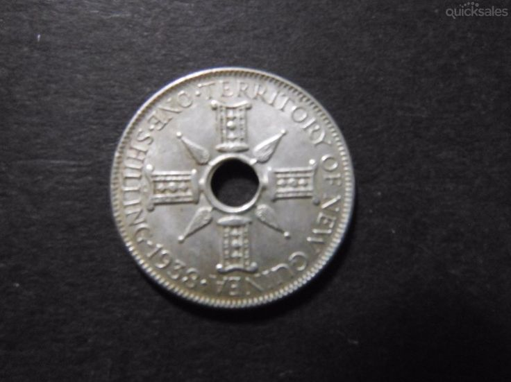 Florin, New Guinea, 1938, good condition by jones101 - $45.00