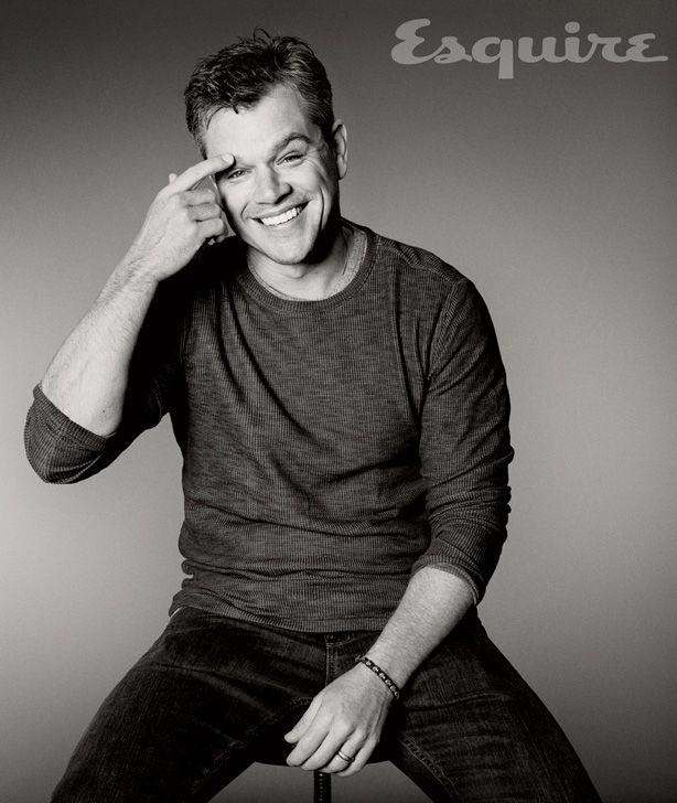 Matt Damon Elysium Interview - Matt Damon Esquire Cover Story - Esquire