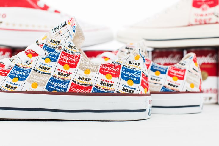 A Closer Look at the Andy Warhol x Converse 2015 Chuck Taylor Collection