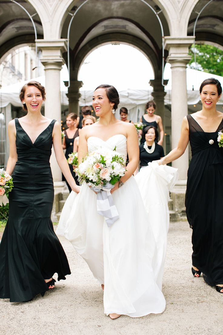 55 best bridesmaid images on pinterest bridesmaids country stunning black bridesmaid dresses great for that 1920s style wedding bride bridesmaid ombrellifo Image collections